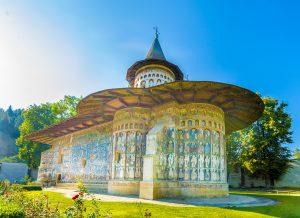 Kloster Voroneț in Bucovina