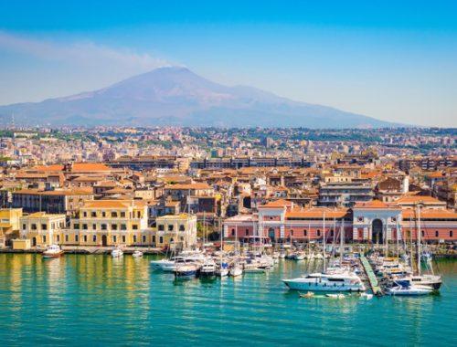 Bild: Catania,Sizilien's zweitgrößte Stadt