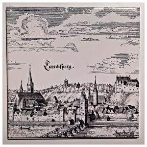 Historisches Landsberg am Lech (damals Landtsperg)