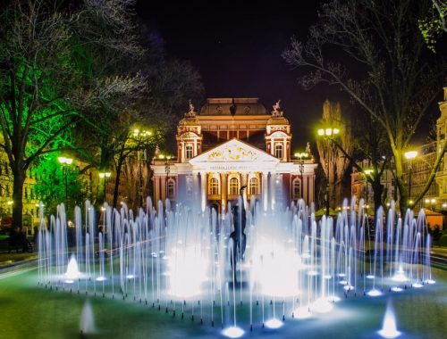 Nationaltheater Ivan Vazov in Sofia